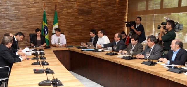 22-03-2012 - Reunião Ministra Tereza Campêllo - Palácio (1)