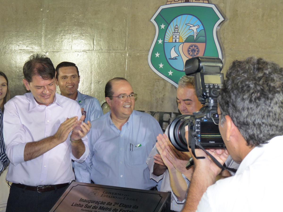 28-09-2012 - Inauguração da 2° Etapa da Linha Sul do Metrô de Fortaleza - Estação Benfica (9)