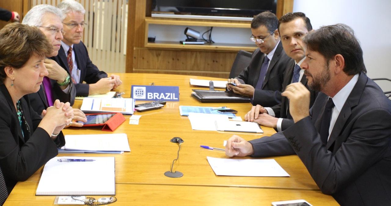 Governador se reúne com BNDES e Banco Mundial, acompanhado do Secretário da Seplag