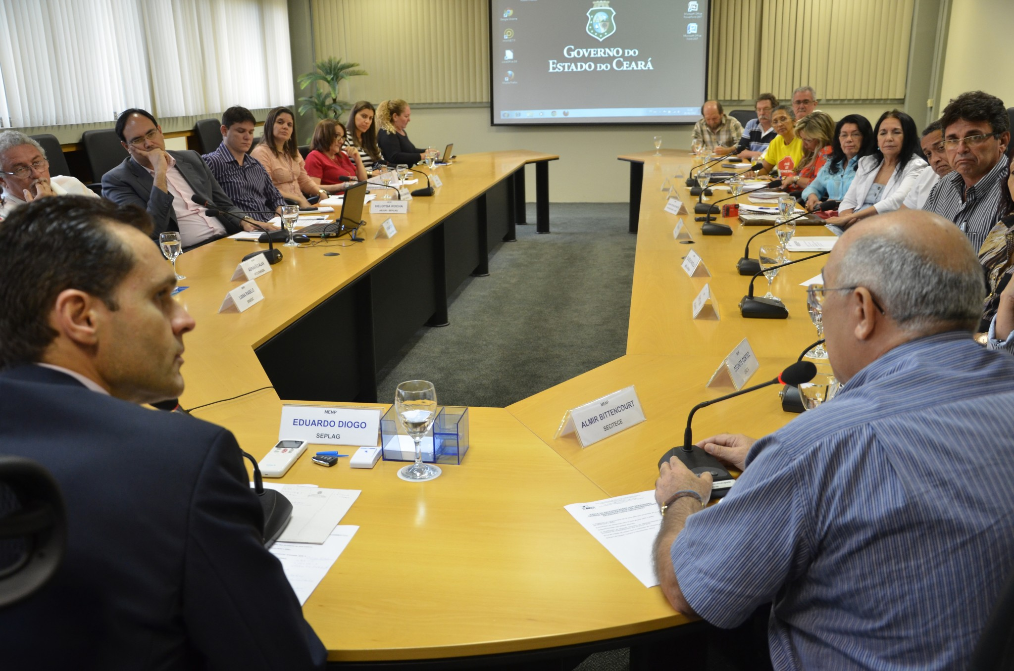 Secretário debate pauta de reivindicações das universidades estaduais