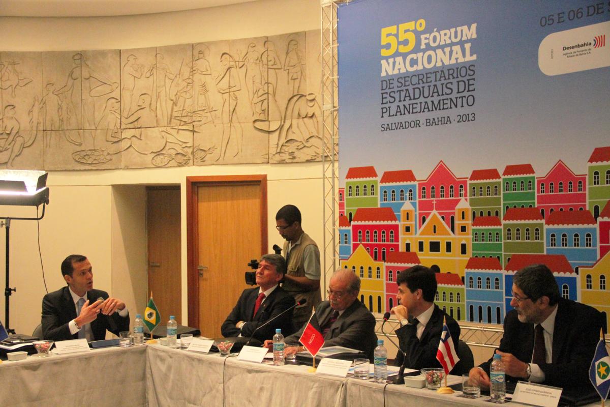 Secretários de Planejamento participam de encontro em Salvador