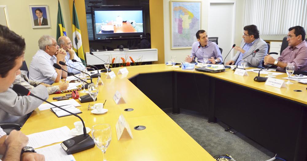 Videoconferência na SEPLAG debate Programa para Resultados