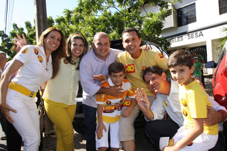 FOTO GOVERNADOR E PREFEITO - 28.10.12