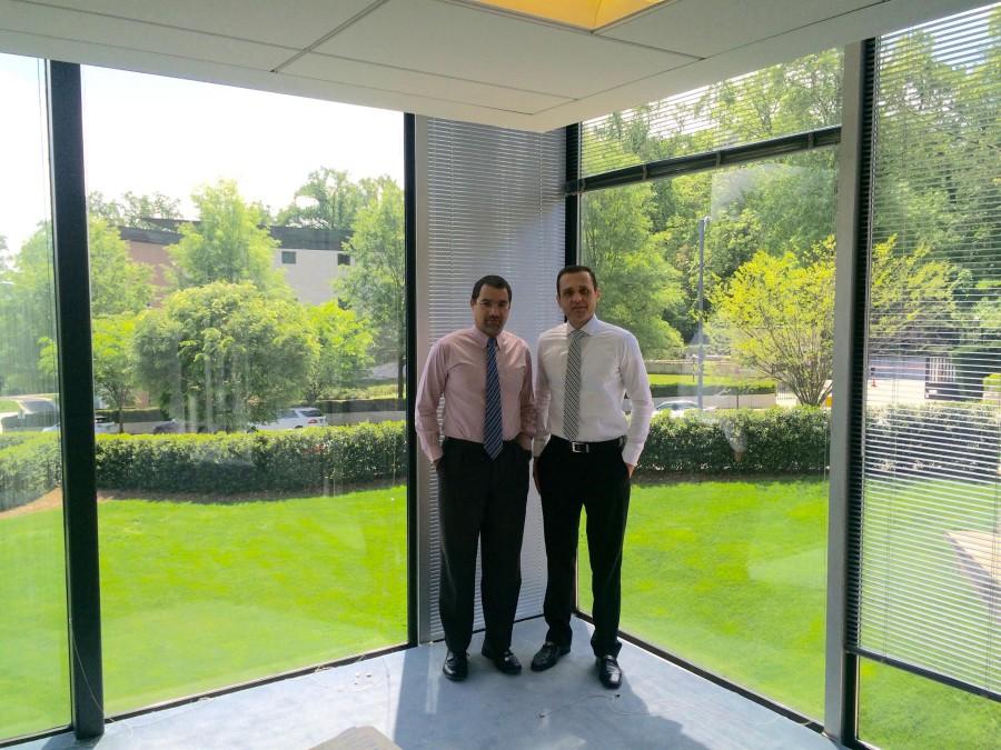 Foto 2. Encontro com o Conselheiro-Chefe do Setor Educacional da Embaixada, Franklin Silva Netto