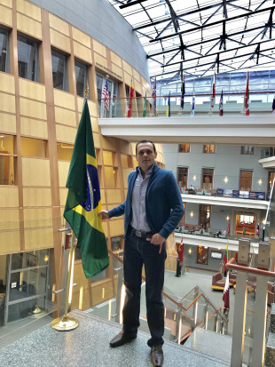 Eduardo at Georgetown University, McDonough School of Business