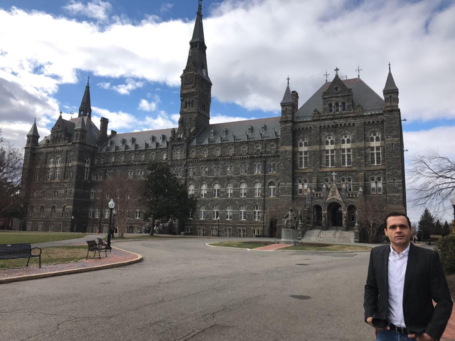 Georgetown University's Healy Hall - a National Historic Landmark