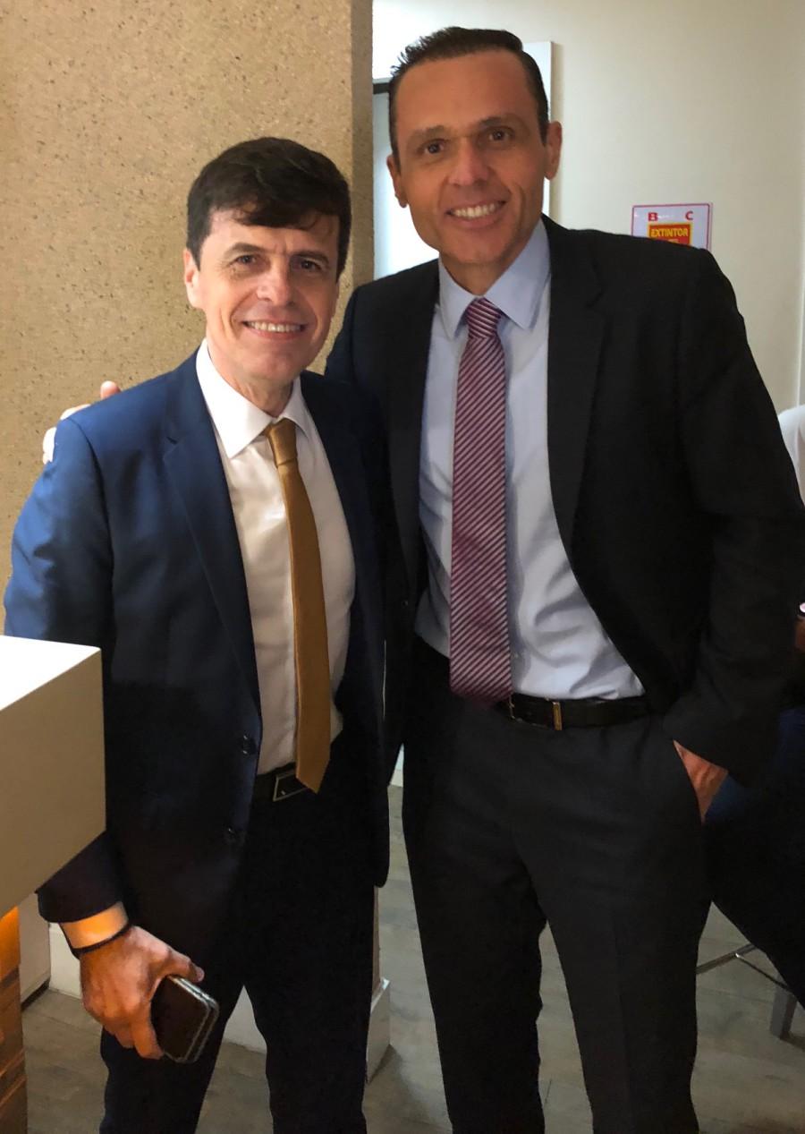 Com Gustavo Nogueira, secretário de Planejamento  do Rio Grande do Norte