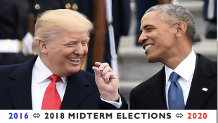 Trump X Obama - 2016, 2018 Midterms, 2020