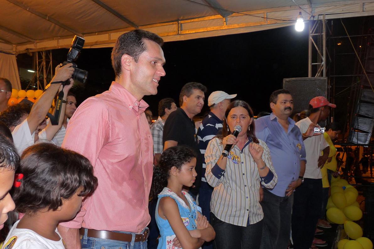 Em Caridade, PSD realiza comício com sua candidata à Prefeitura Simone Tavares