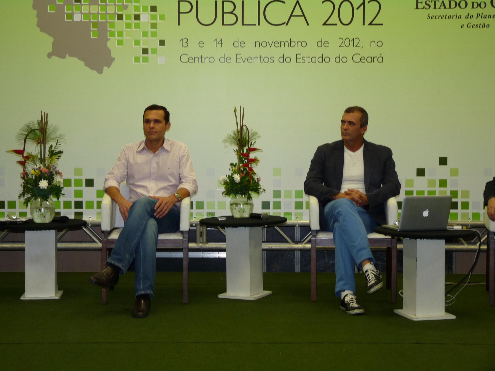 Palestra de Paulo Barros encerra Congresso de Gestão Pública 2012