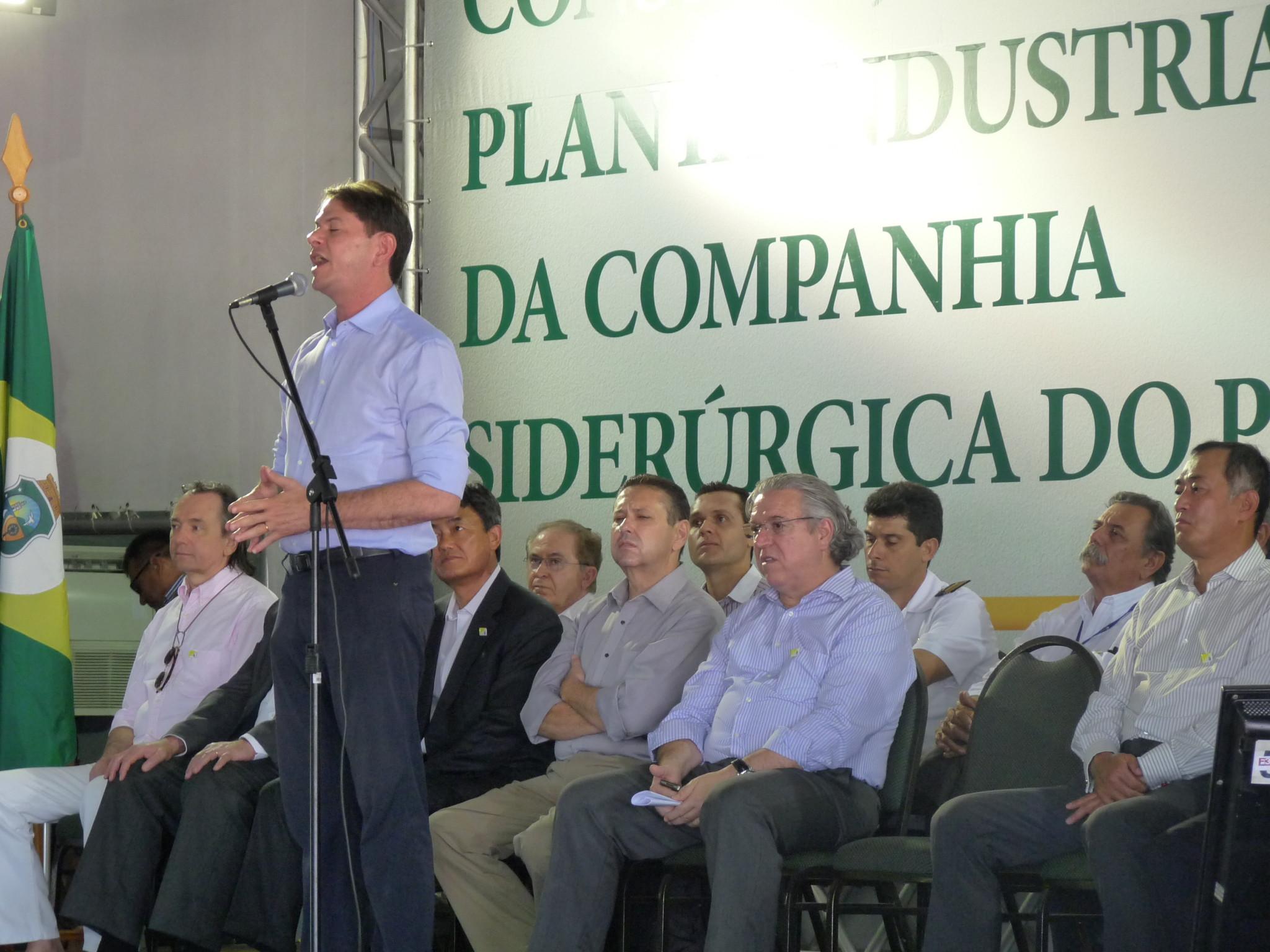 Siderúrgica no Ceará é irreversível