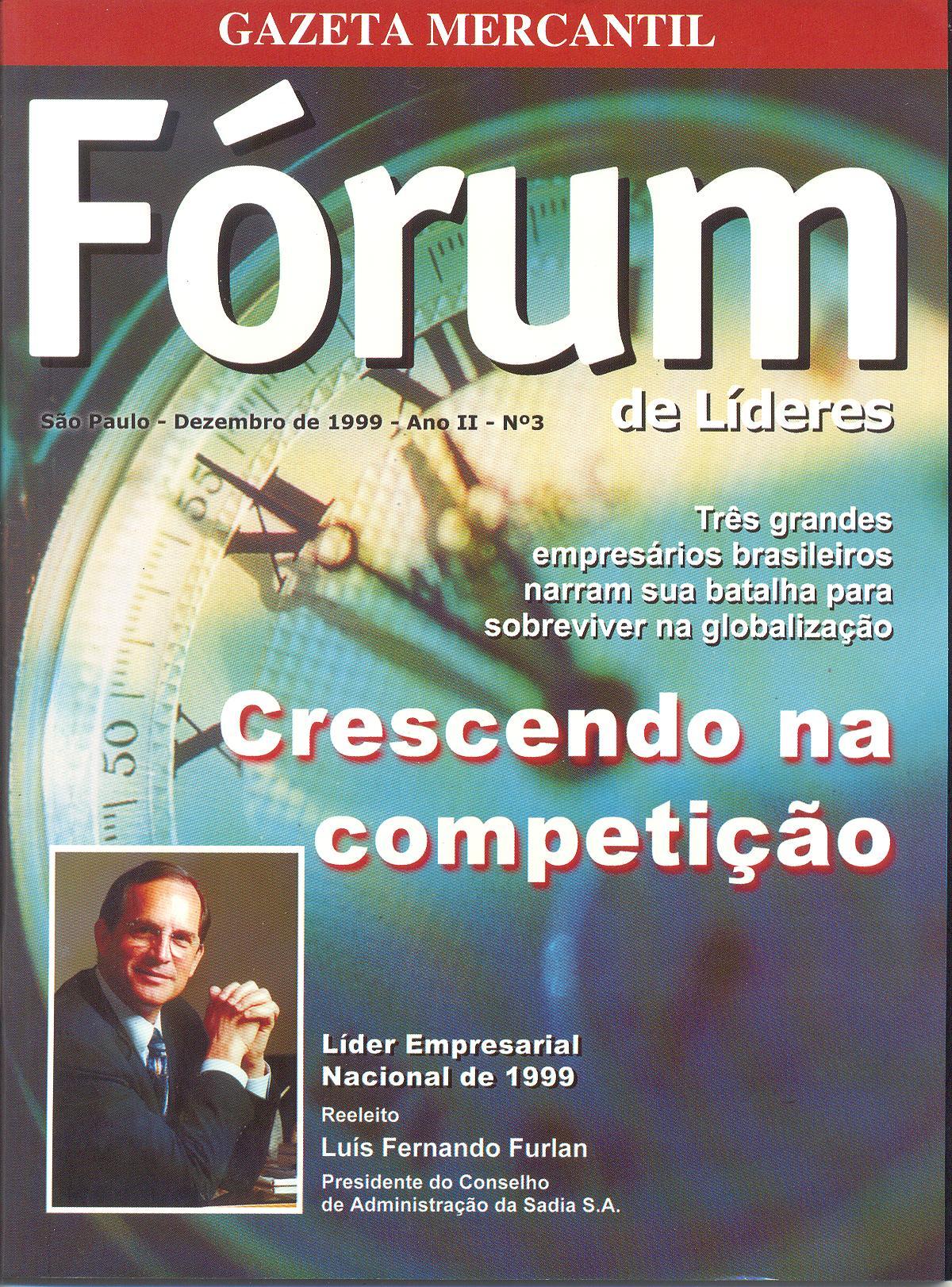 Reportagem na Revista Fórum da Gazeta Mercantil