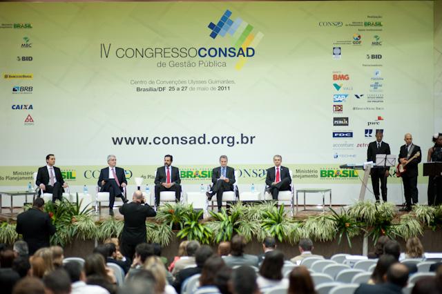 EGP apresenta trabalho no IV Congresso CONSAD em Brasília