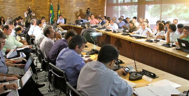 Governador e secretários avaliam andamento do MAPP 2011