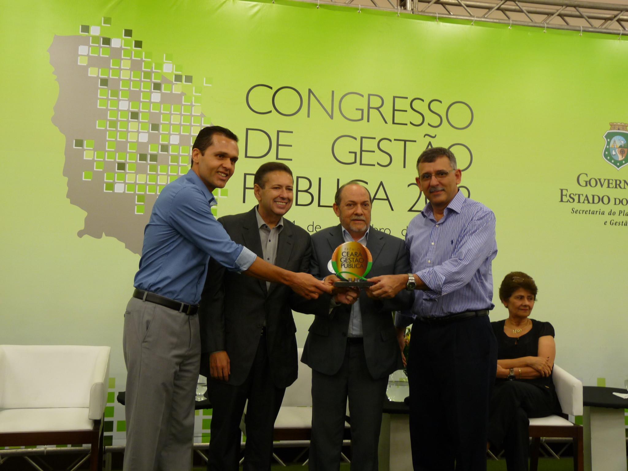 Prêmio Ceará de Gestão Pública tem ganhadores