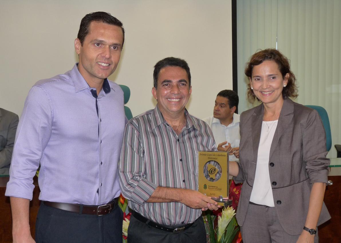 Solenidade de Entrega do Prêmio Ceará Cidadania Eletrônica 2012