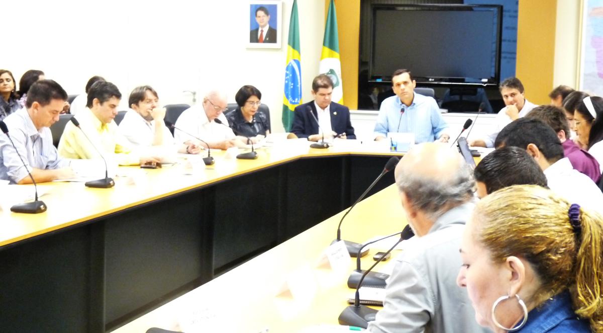 Conselho do Fecop realiza primeira reunião de 2011