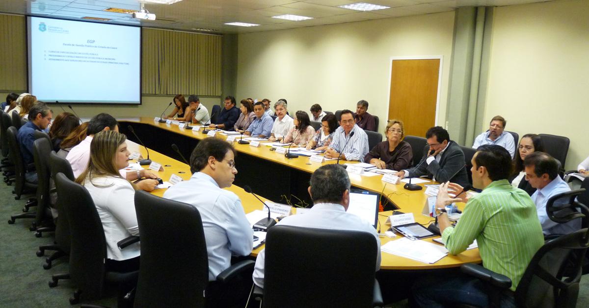 Seplag faz reunião para avaliação das ações