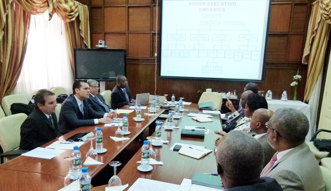 Secretários da Seplag têm agenda no Governo de Angola