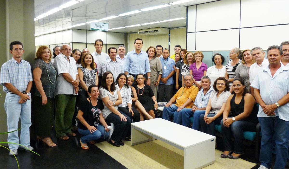 Gestores e servidores da Coafi, Cotef e Comge participaram do diálogo