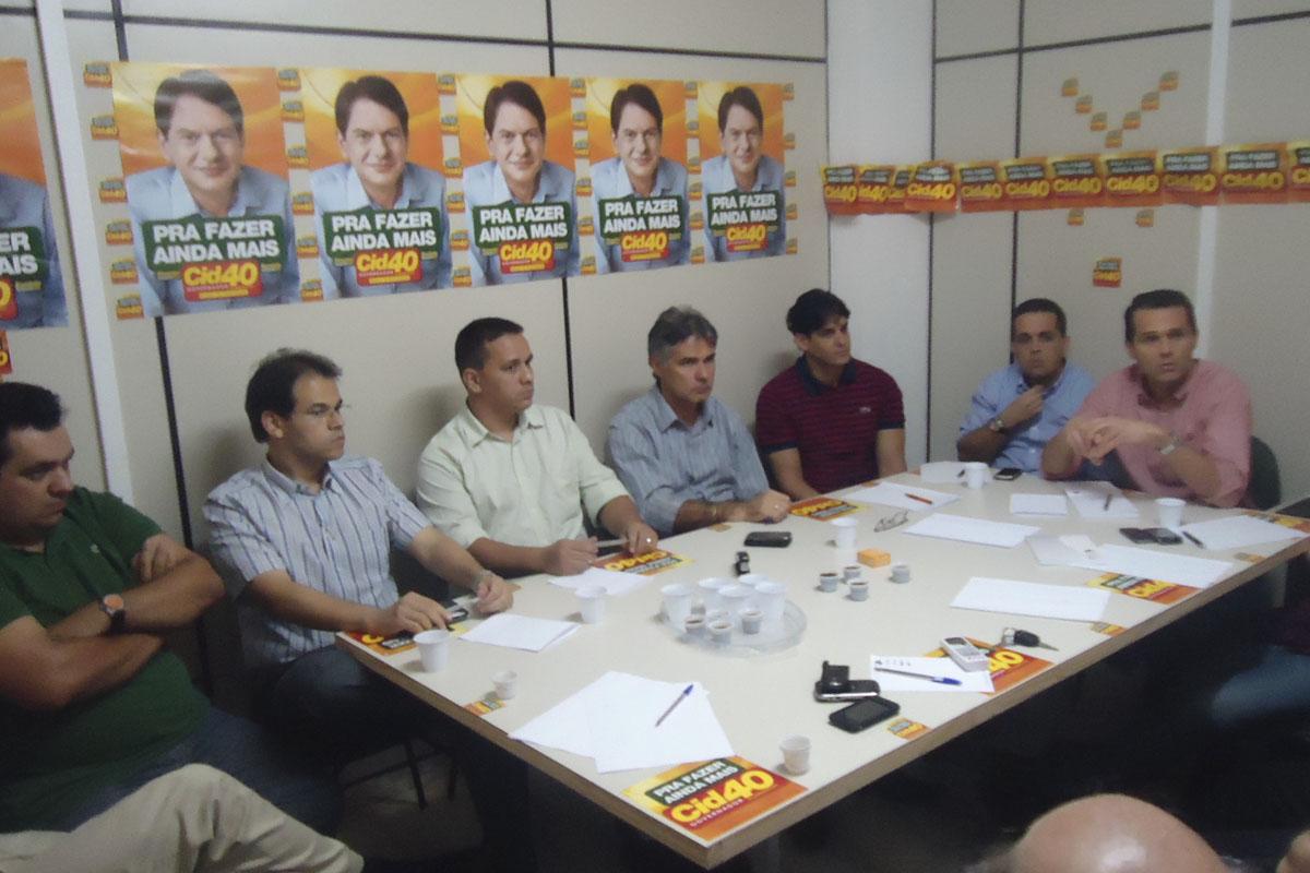 Reunião do Grupo de Comprometimento Máximo – Campanha Cid 40