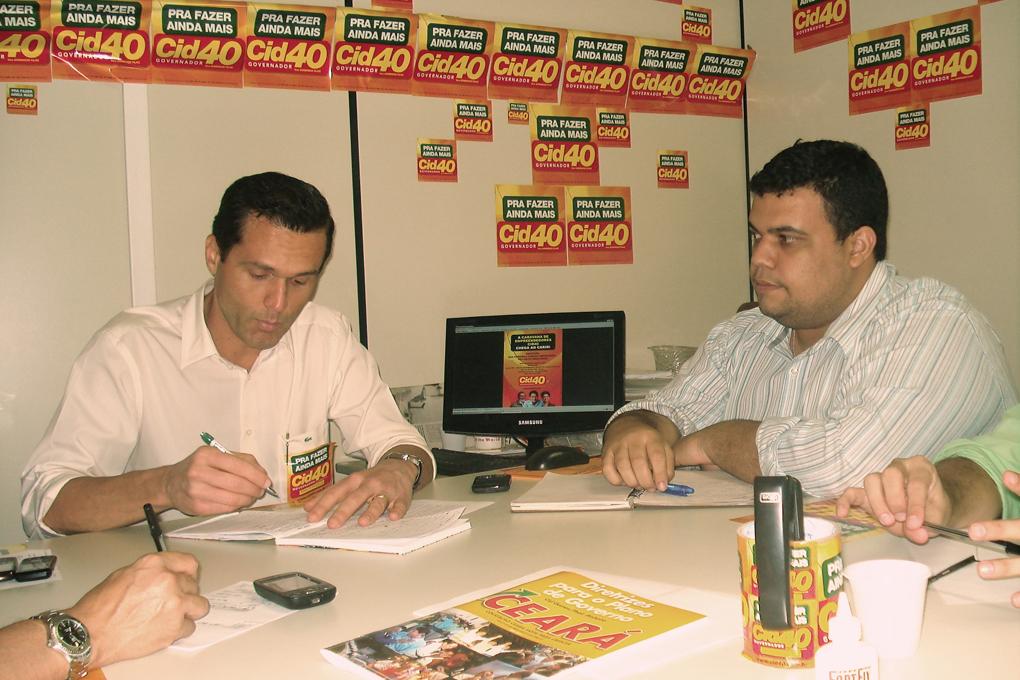 Reunião do Grupo de Emprendedores da Campanha Cid 40