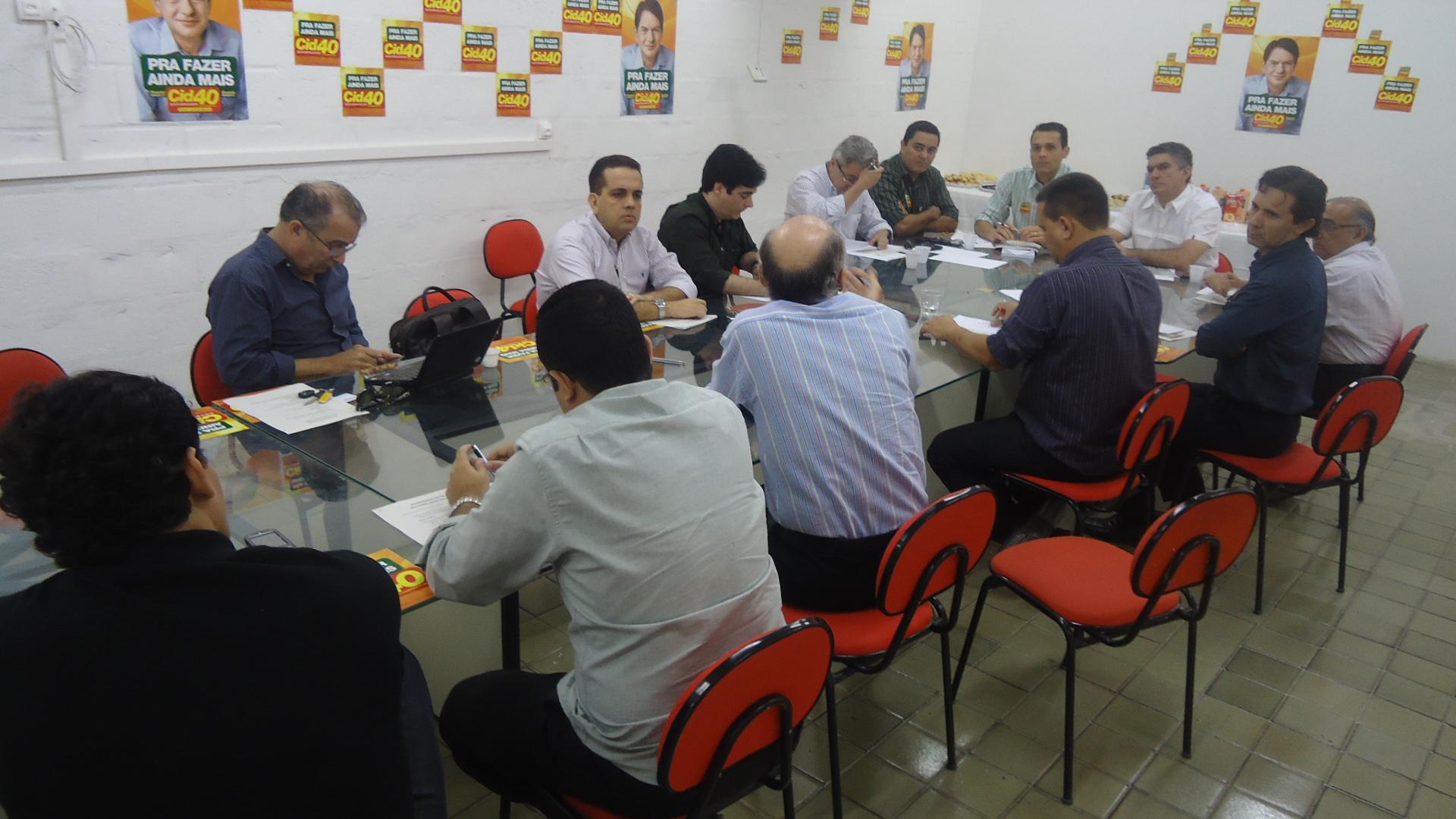 Segunda Reunião do Grupo de Empreendedores da Campanha Cid 40