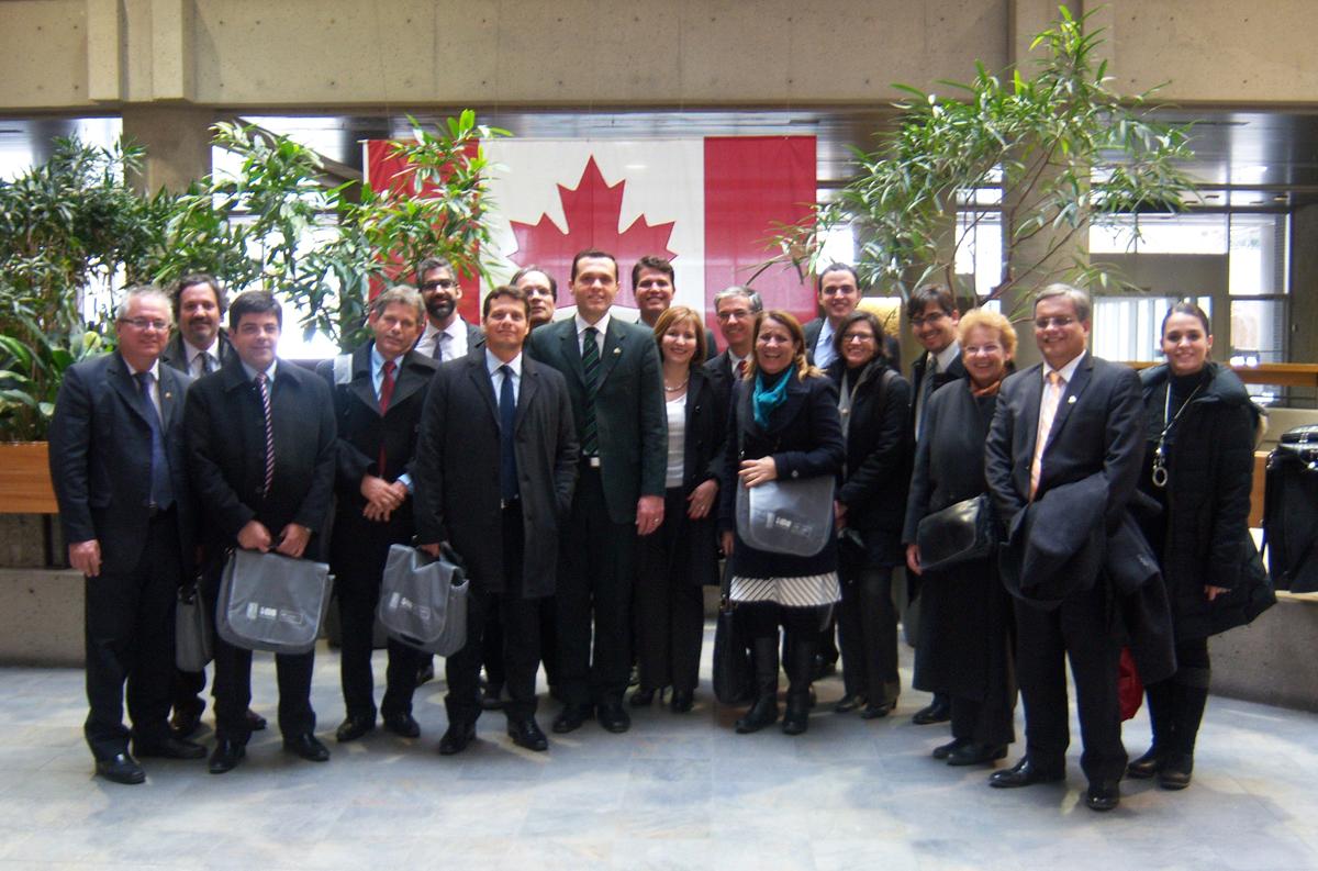 Canadá – Segunda etapa da Missão Consad