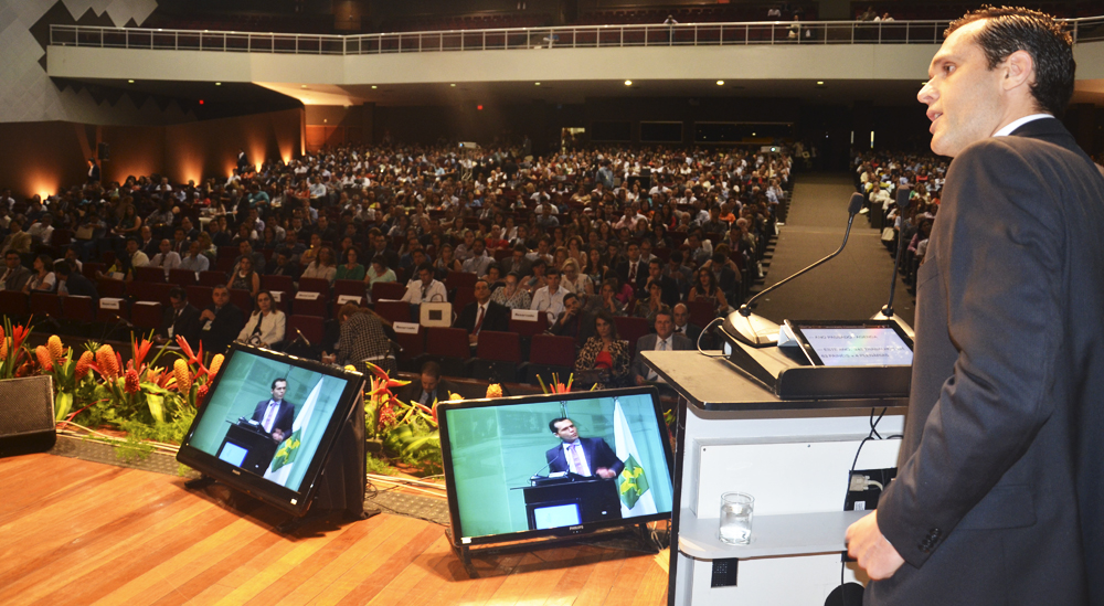Secretário abre VI Congresso Consad de Gestão Pública