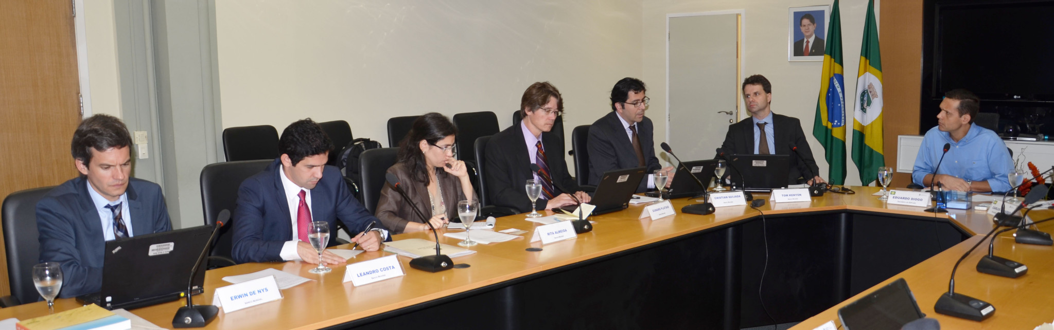 Governo e Banco Mundial têm encontro na SEPLAG