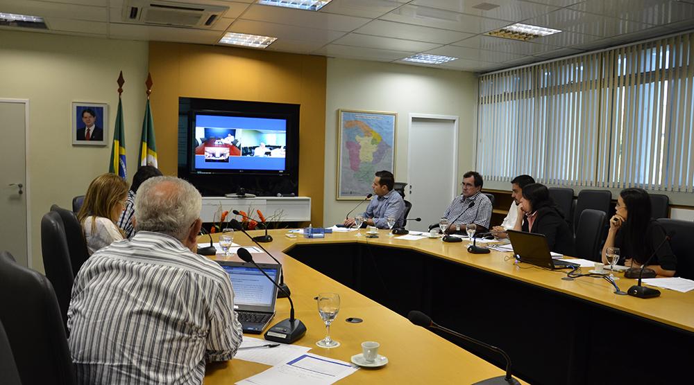 SEPLAG realiza videoconferência