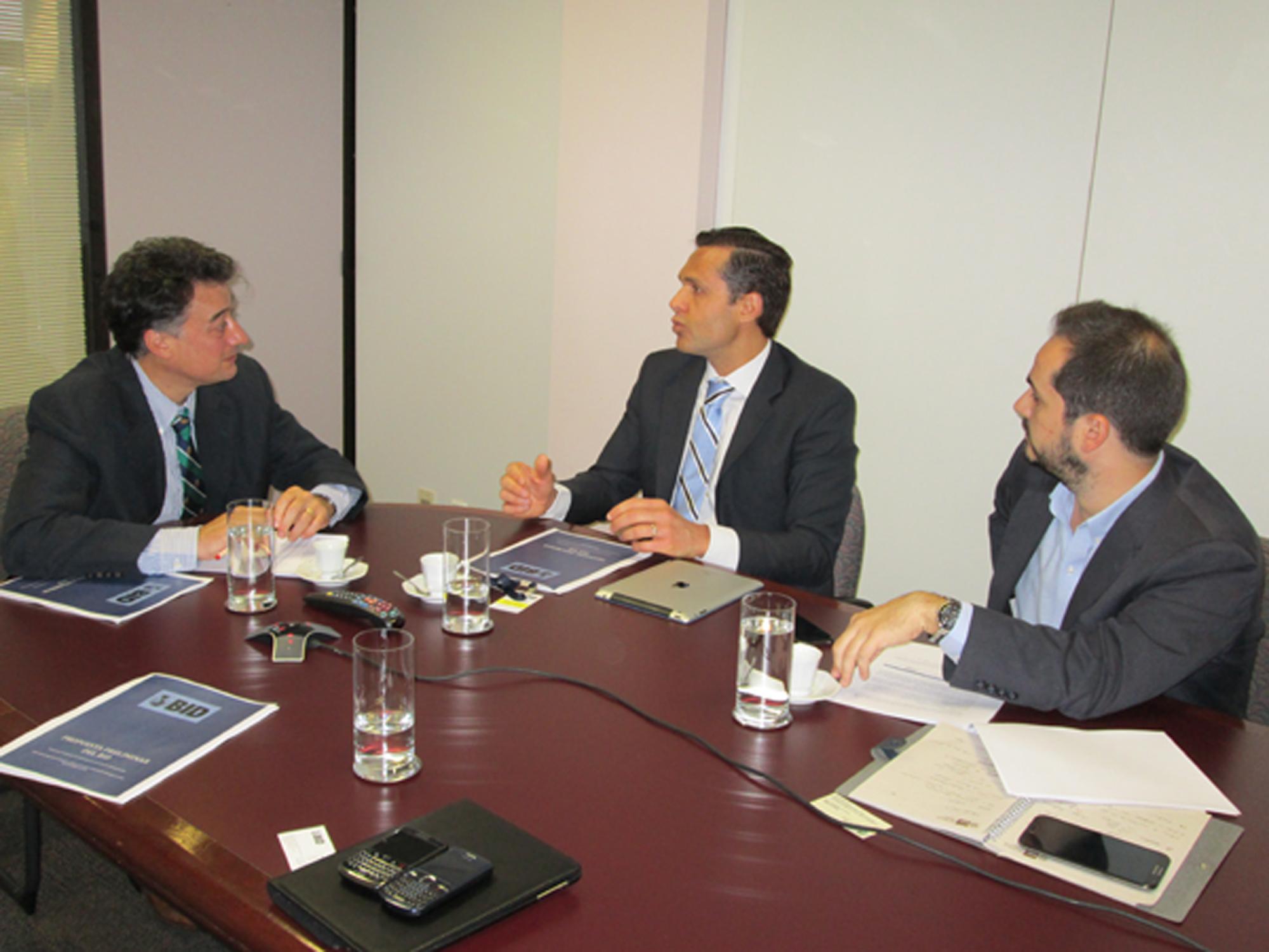 Secretário debate no BID planejamento estratégico de longo prazo