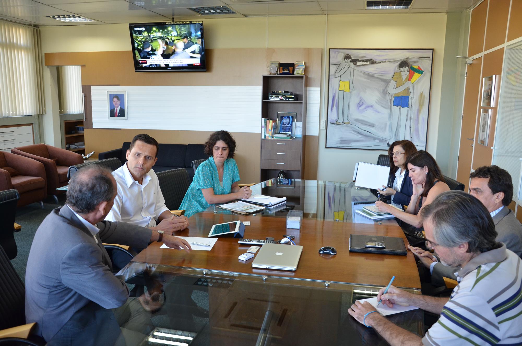Secretários têm encontro com dirigentes do MDA