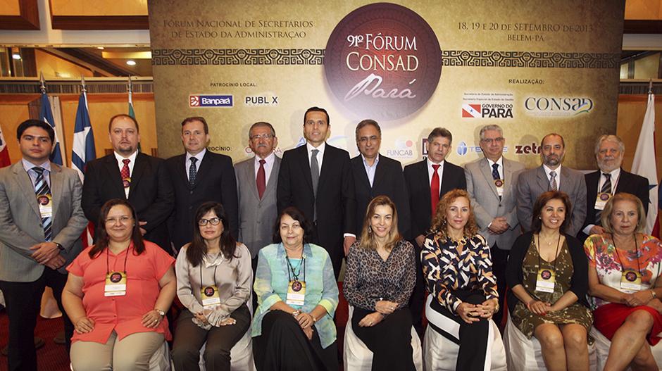 Secretário destaca importância da agenda do Fórum do Consad