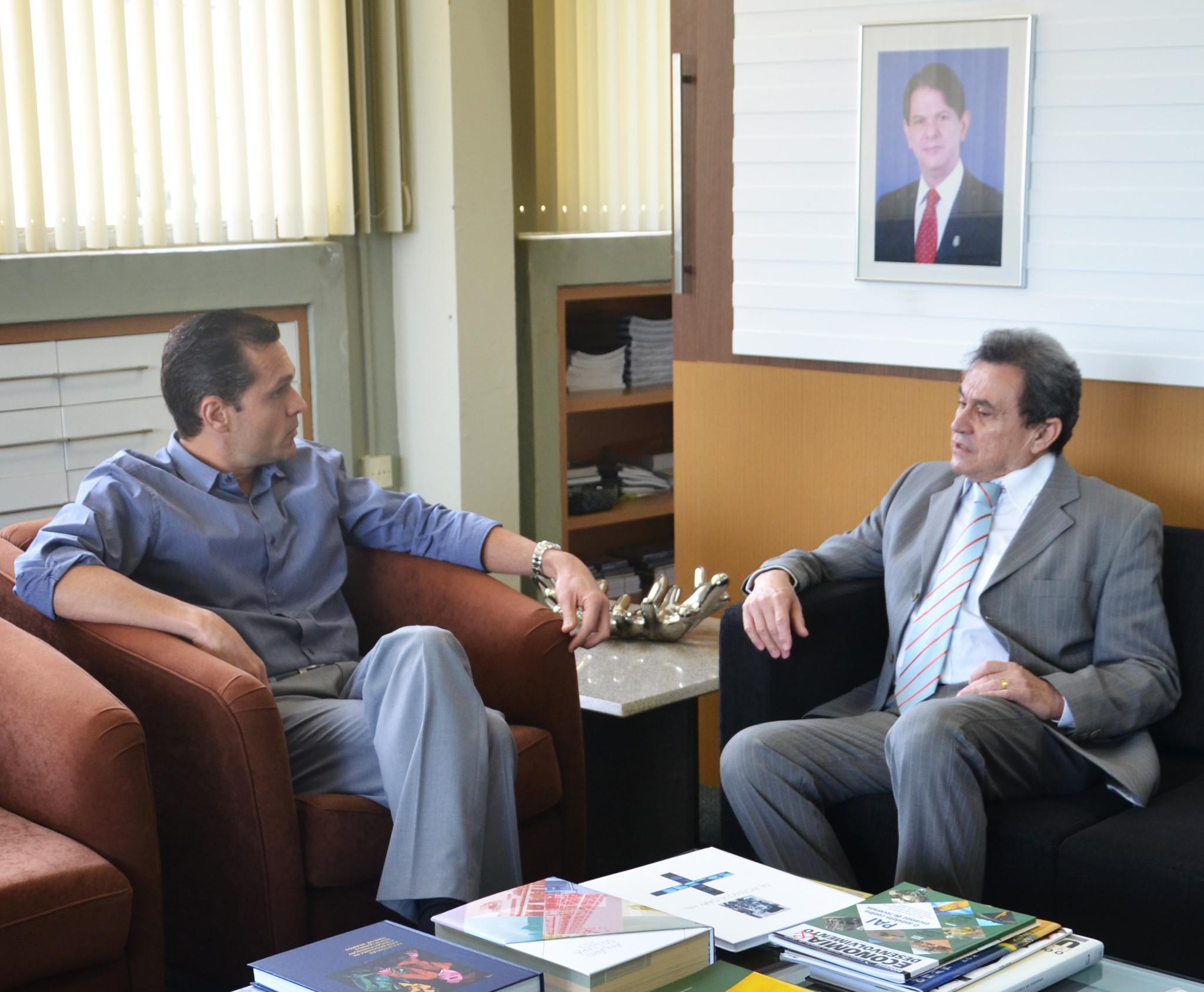 Secretário do Rio Grande do Norte faz visita à SEPLAG