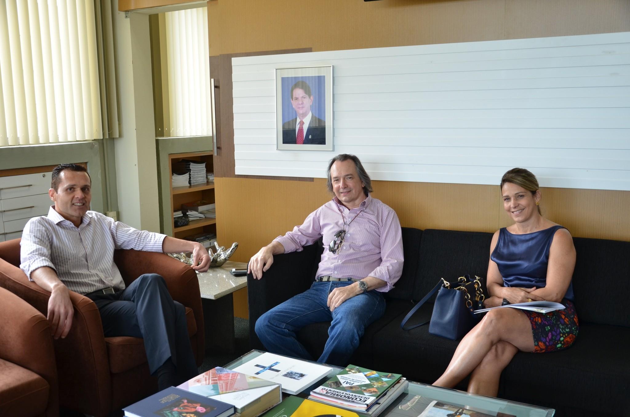 Presidente da CSP visita SEPLAG