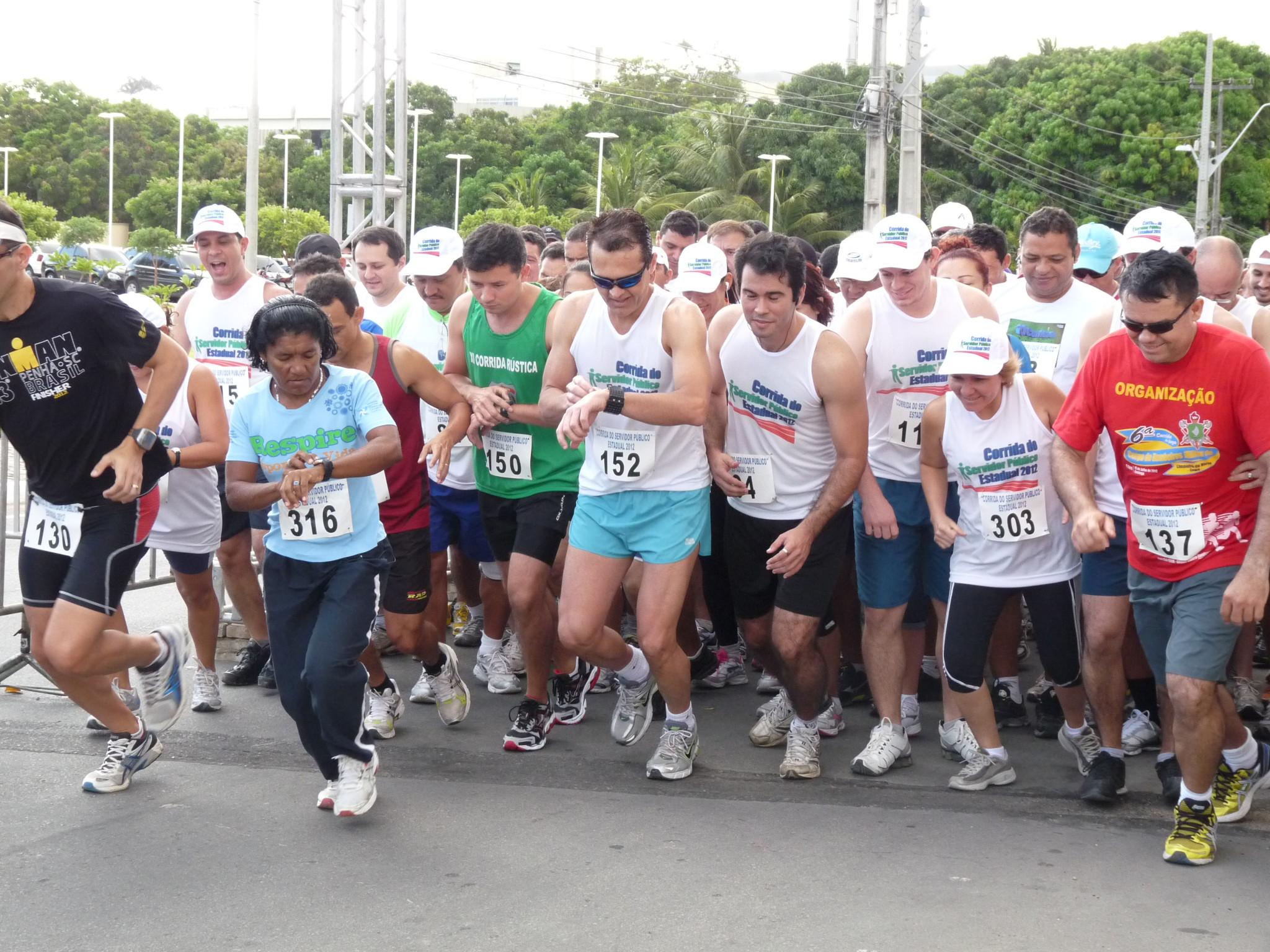 Corrida do Servidor Público reúne 240 atletas