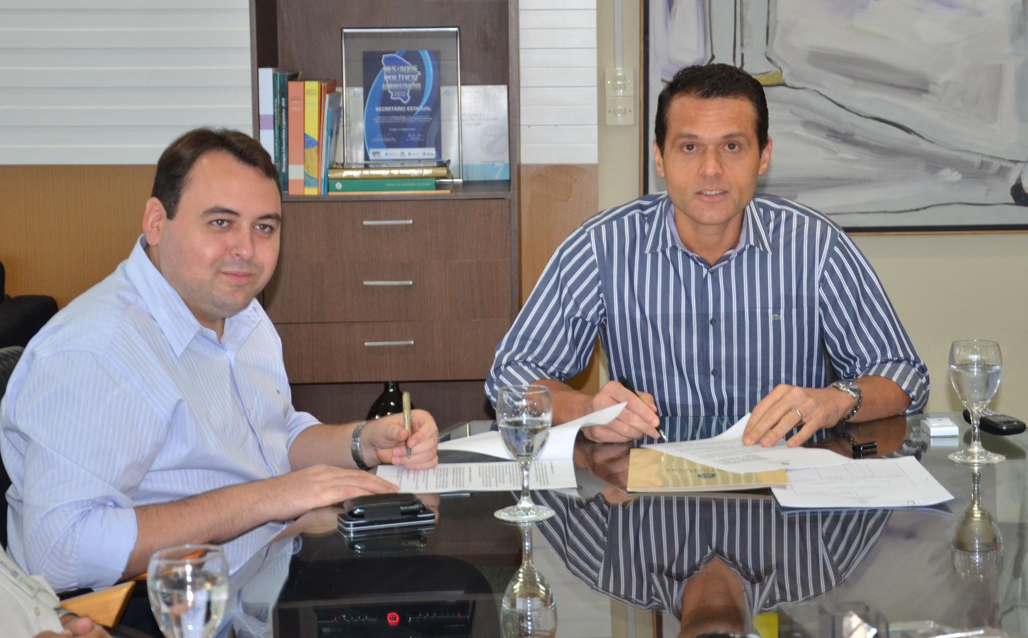SEPLAG e DETRAN assinam cooperação técnica