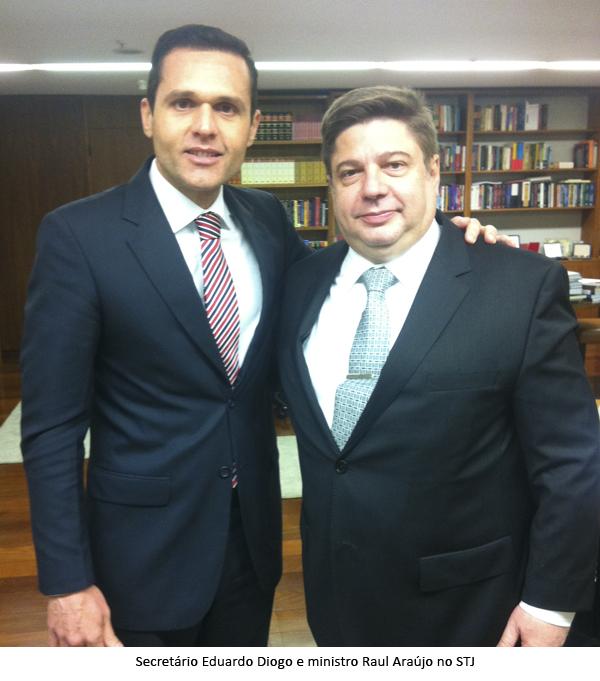 Secretário cumpre agenda em Brasília