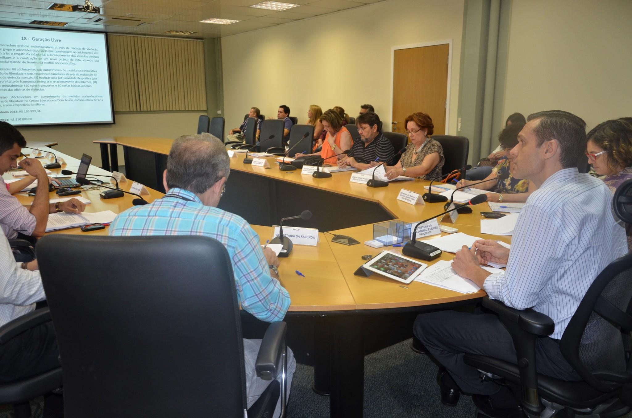 FECOP aprova 29 projetos na segunda reunião de 2014