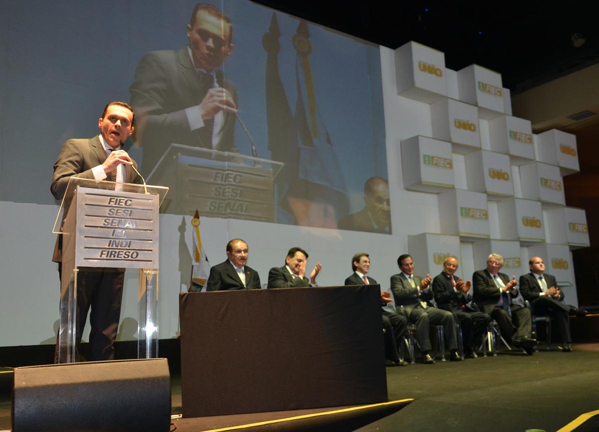 Discurso na Posse da nova diretoria da Federação das Indústrias do Estado do Ceará – FIEC
