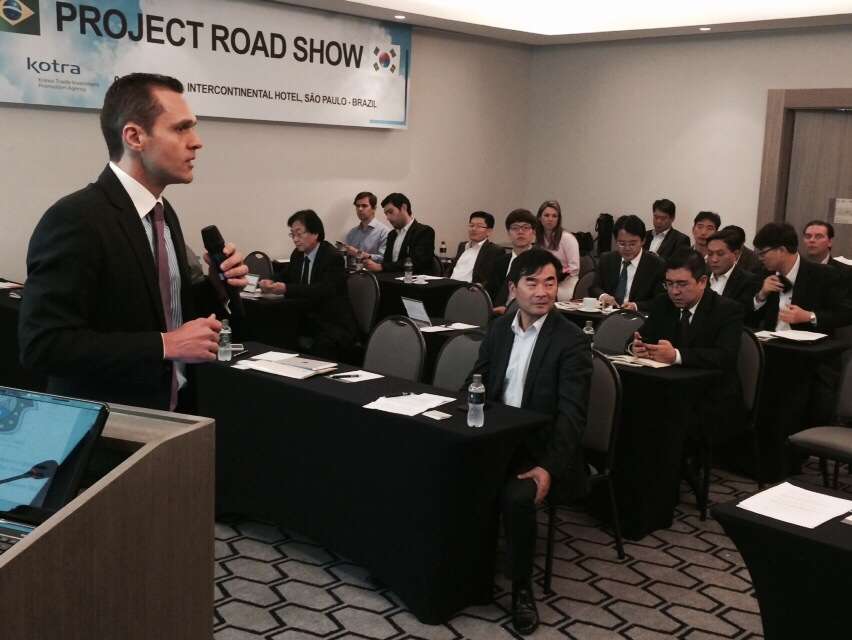 Secretário tem encontro com investidores coreanos sobre PPPs