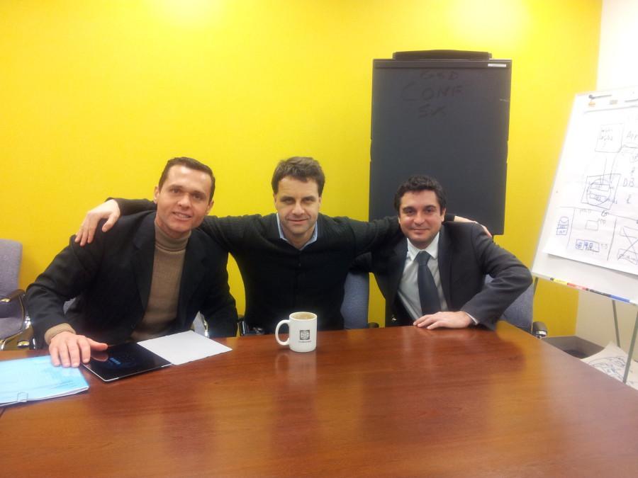 Foto 8. With Tom Kenyon and Tiago Peixoto