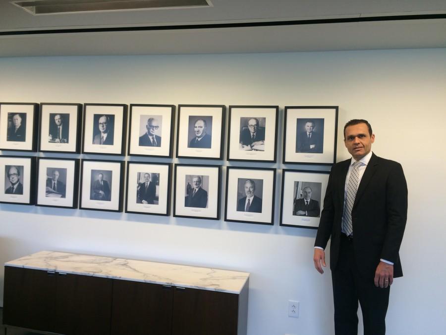 Foto 4. Galeria dos ex-Embaixadores brasileiros para os Estados Unidos