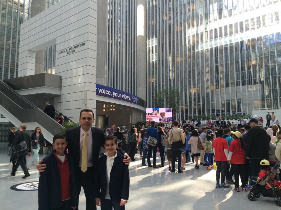 Foto 6. Celebração do _Take Your Child To Work Day 2015_ no Banco Mundial - Thursday April 23