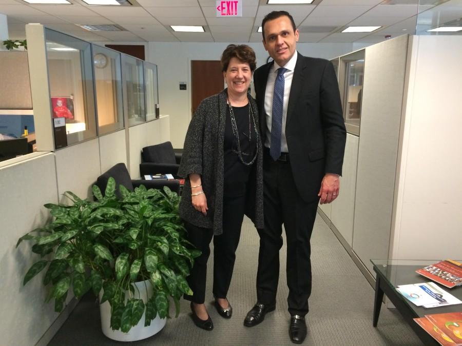 Reunião com Deborah Wetzel, Senior Director for the Governance Global Practice of the World Bank.