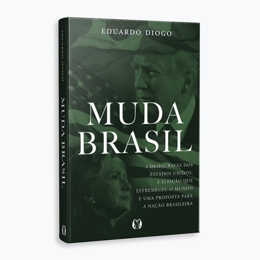 """Livro """"MUDA BRASIL"""". Lançamento em Fortaleza dia 26/10, na FIEC!"""