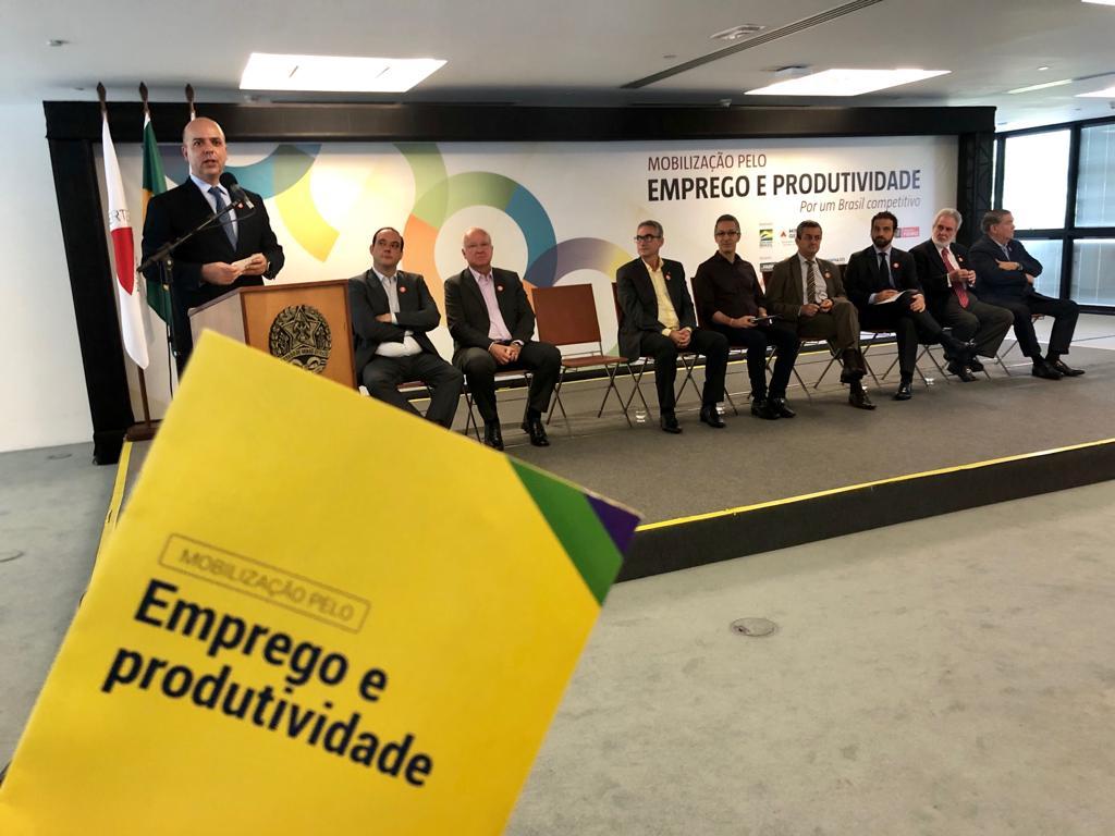 Lançamento do Programa Mobilização pelo Emprego e Produtividade na Cidade Administrativa – Belo Horizonte/MG