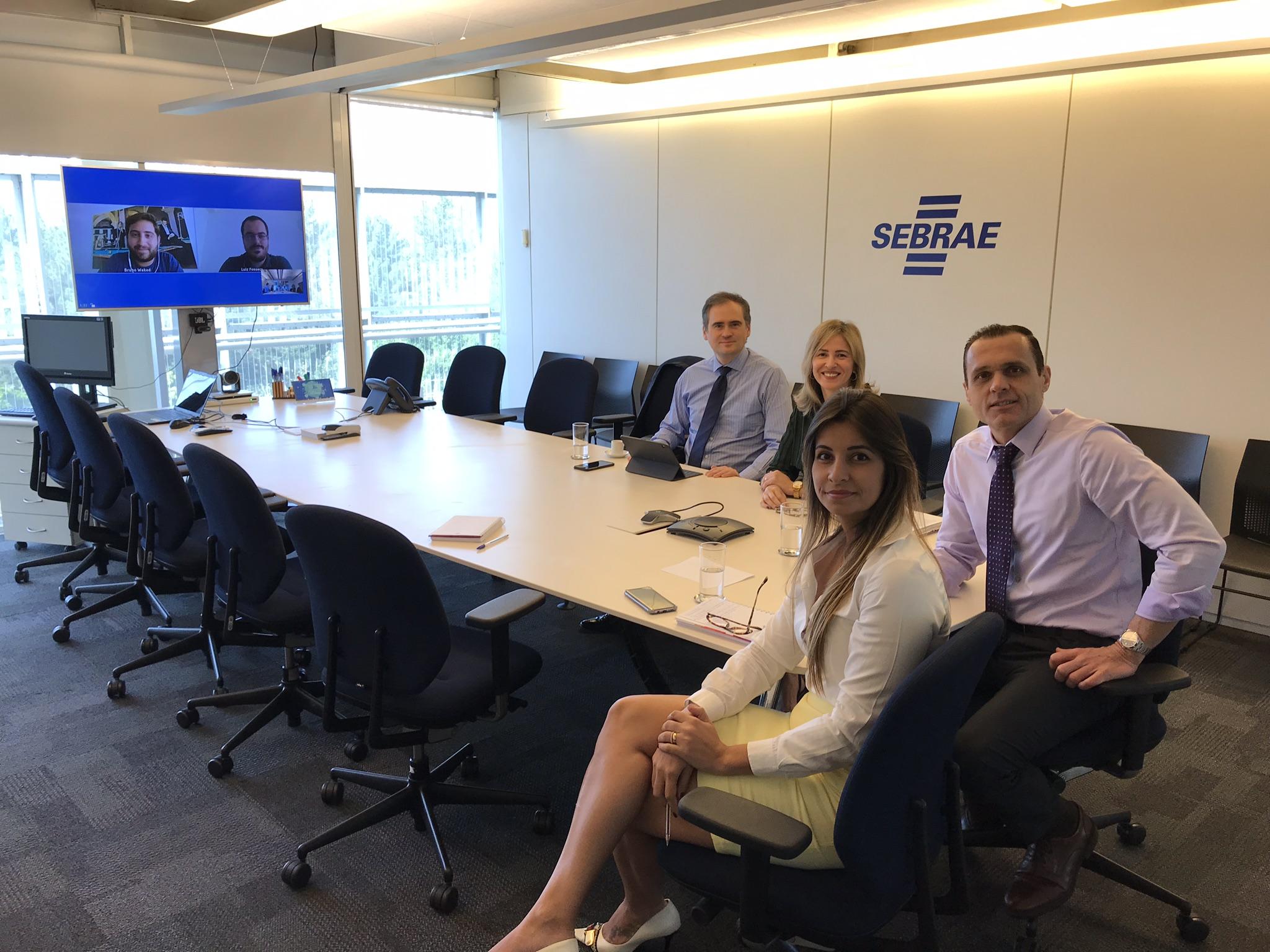 Videoconferência sobre o Projeto Chicago 4Brasil