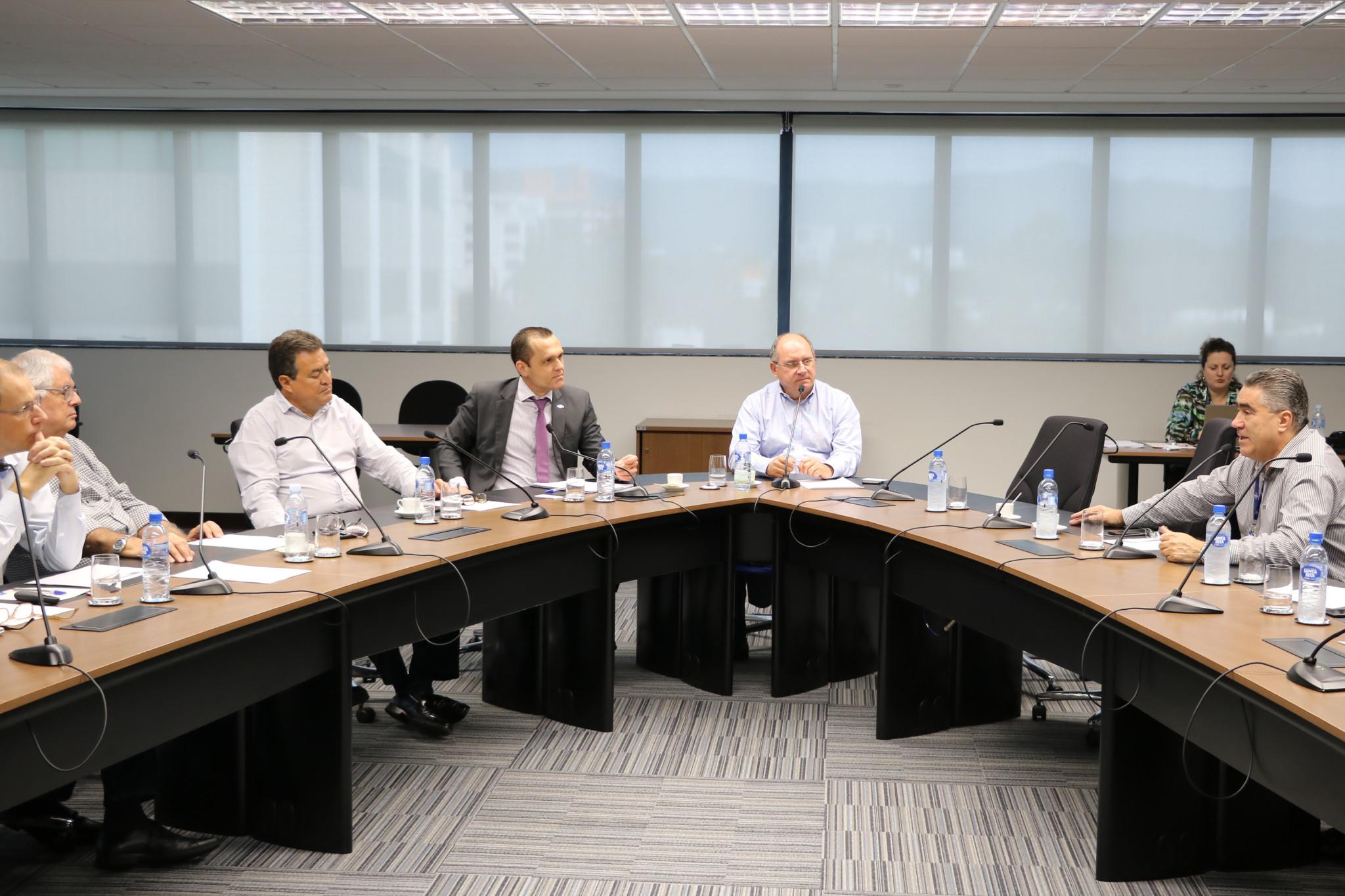 Reunião com o Comitê de Compliance com o presidente do CDE – Florianópolis/SC